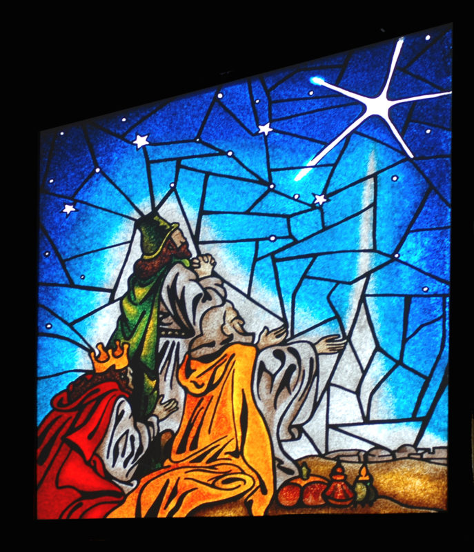 epiphany stained glass
