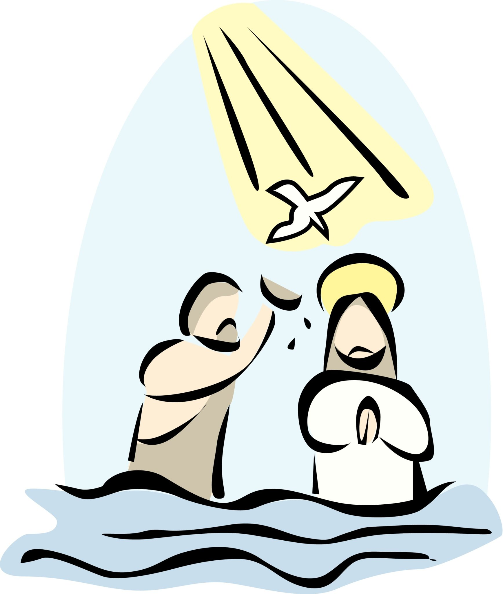 Baptizing Jesus